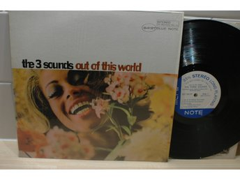 The Three Sounds Out of this World LP Blue Note org stereo New York jazz