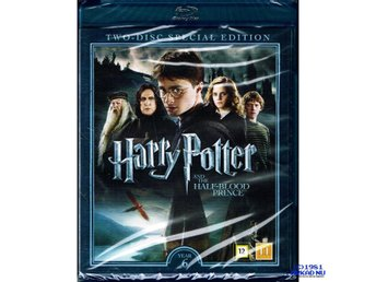 HARRY POTTER AND THE HALF-BLOOD PRINCE YEAR 6 SPECIAL EDITION BLU-RAY
