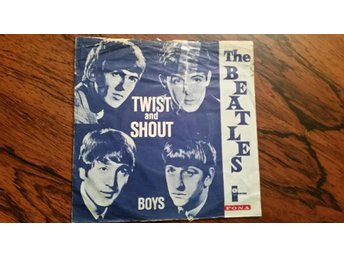 Beatles,single,Denmark,twist and shout