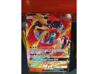 Nm Ho Oh Gx 21 147 Ultra Rare Pokemon Kort 384565270 ᐈ