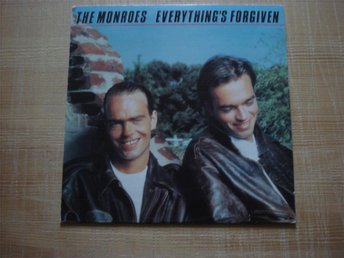 LP:n The Monroes (Norsk grupp) Everything´s forgiven