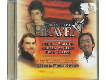 VOICES FROM HEAVEN - CECILIA BARTOLI,ANDREA BOCELLI.....