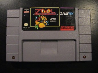 "ZOOL: NINJA OF THE ""NTH"" DIMENSION / SUPER NINTENDO SNES / USA IMPORT"