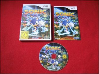 SONIC COLOURS till Nintendo Wii