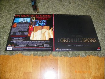 Lord of the illusion AC-3 Deluxe letterbox edition 2st LD