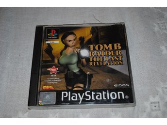 Tomb Raider The Last Revelation med manual