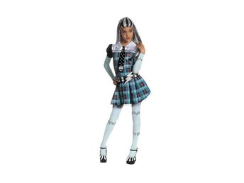 MONSTER HIGH 5-7 år Frankie Stein Hel dress outfit
