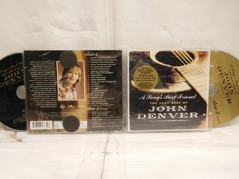 JOHN DENVER - A SONG'S BEST FRIEND - VERY BEST - 2-CD