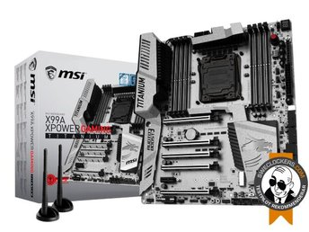 MSI X99A XPOWER GAMING TITANIUM - ATX / X99