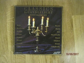Classic by Candlelight, four volume set. Kassetband - Sollentuna - Classic by Candlelight, four volume set. Kassetband - Sollentuna