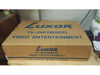 Vintage tv-spel , Luxor video entertainment , 1977