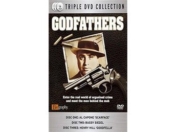 Godfathers - Al Capone, Bugsy Siegel, Henry Hill Goodfella - DVD Box
