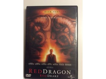 Dvd Red Dragon Anthony Hopkins Edward Norton Ralph Fiennes