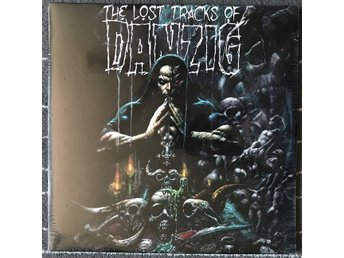 Danzig - The Lost Tracks Of Danzig 2LP (Green-Pale Blue Marbled) Misfits