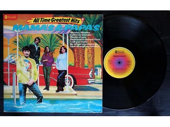 Mama's & Papa's-All Time Greatest Hits. 2-LP.FOLD-OUT SLEEVE