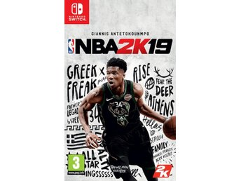 NBA 2K19 Nintendo Switch - Nya Spel