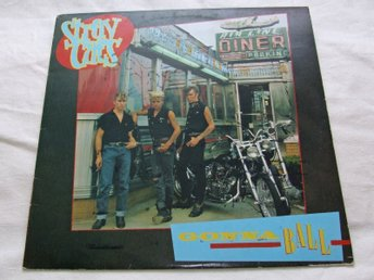 Stray Cats - Gonna Ball - vinyl-LP från 1981, bra skick