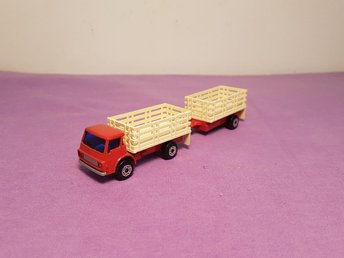 Matchbox - cattle truck + trailer - bra skick