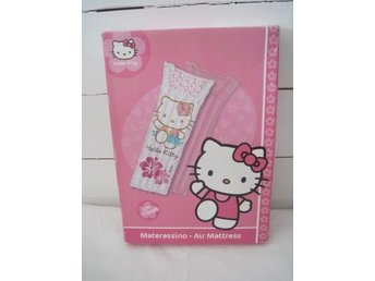 HELLO KITTY badmadrass LUFTMADRASS rosa/vit NY!