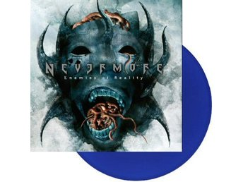 Nevermore -Enemies of reality LP US edition on blue vinyl