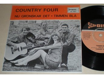 Country Four 45/PS Timmen blå 1966 VG++