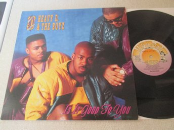 "Heavy D. & The Boyz ""Is It Good To You"""