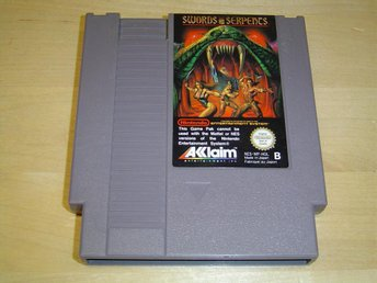 SWORDS AND SERPENTS NINTENDO 8-BIT NES PAL-B