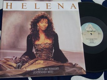 "HELENA - BE SOFT WITH ME TONIGHT 12"" 1987 TOPPSKICK!!"