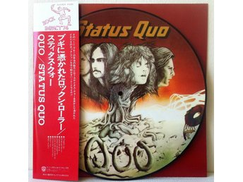 STATUS QUO 'Quo' Japan-only picture-disc LP