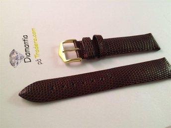18 mm -- äkta ÖDLA -- brunt exklusivt klockarmband -- NYTT -- brun armband - Boliden - 18 mm -- äkta ÖDLA -- brunt exklusivt klockarmband -- NYTT -- brun armband - Boliden