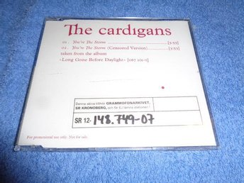 CARDIGANS YOURE THE STORM PROMO CD SINGEL 2003