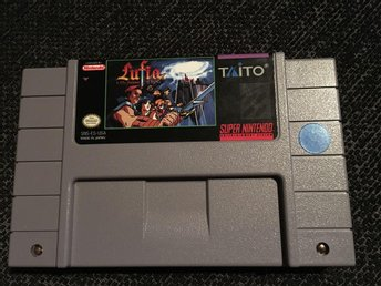 Lufia and the Fortress of Doom - Super Nintendo SNES RPG