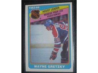 1983-84 Wayne Gretzky #382 Assist Leader OPC - Tingsryd - 1983-84 Wayne Gretzky #382 Assist Leader OPC - Tingsryd