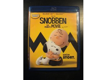 SNOBBEN - THE PEANUTS MOVIE 3D / 3D BLURAY + BLURAY / SVENSKT TAL