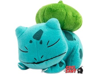 TOMY Pokemon 20cm Plush Sleeping Bulbasaur Figur