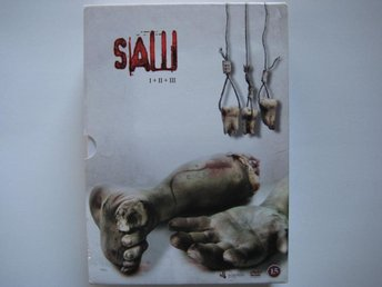 DVD-box: SAW I + II + III (3-discs)