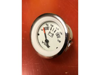 Mercury 12V batteri Volt Meter QuickSilver