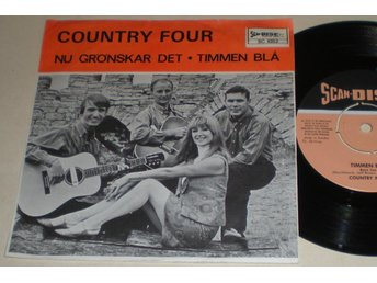 Country Four 45/PS Timmen blå 1966