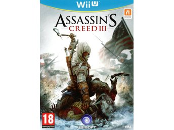 Assassins Creed III (3) - Nordic Edition - Helt nytt till Nintendo Wii U!!!