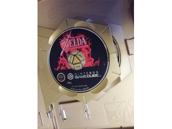 The Legend Of Zelda Ocarina Of Time Gamecube PAL Endast Skiva