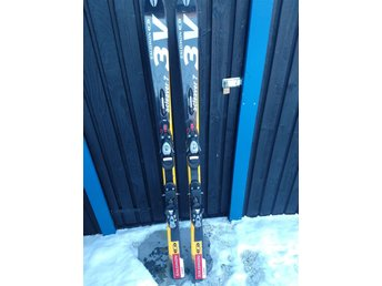 Salomon carving skidor 160cm