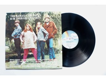 ** The mamas & the papas ‎– 16 of their greatest hits **