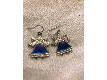 örhängen med änglar