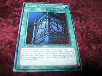 Yu Gi Oh Clock Tower Prison Lcgx En141 250084664 ᐈ Ghost 64 Pa Tradera