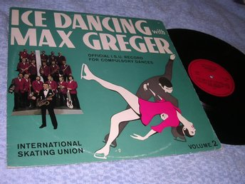 Ice Dancing with Max Grefer (LP) Konståkning EX/VG+ Rare!