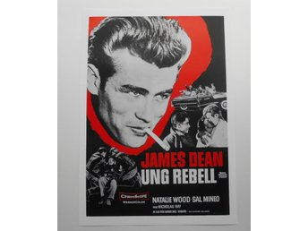JAMES DEAN - 'Rebel Without a Cause' / 'Ung Rebell' - Poster - *A4*-print NME!