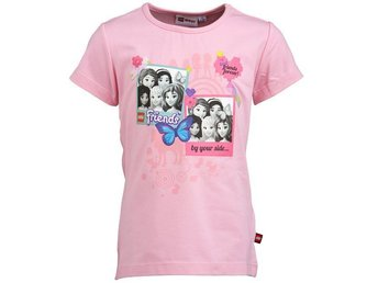T-SHIRT FRIENDS, TASJA 303, ROSA-140