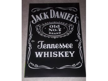 JACK DANIELS (poster, affisch) 61x91 cm Old No. 7 Whiskey