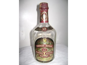 Chivas Regal Whisky 75 cl 43% - Tombutelj utan kartong - Hässleholm - Chivas Regal Whisky 75 cl 43% - Tombutelj utan kartong - Hässleholm