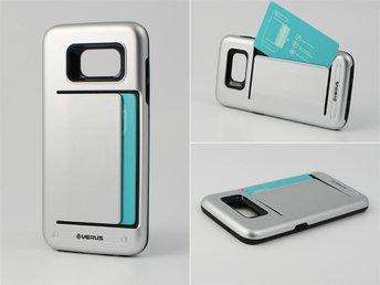 Mobilskal med korthållare till Samsung Galaxy S7 Silver - Helsingborg - Mobilskal med korthållare till Samsung Galaxy S7 Silver - Helsingborg